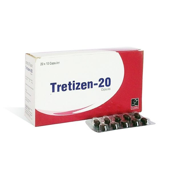 Skin in USA: low prices for Tretizen 20 in USA