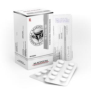 Viktminskning i Sverige: låga priser för Magnum Clen-40 i Sverige