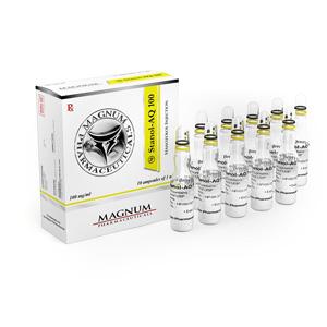 Injicerbara steroider i Sverige: låga priser för Magnum Stanol-AQ 100 i Sverige