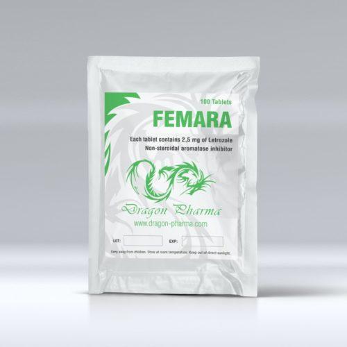 Orala steroider i Sverige: låga priser för FEMARA 2.5 i Sverige